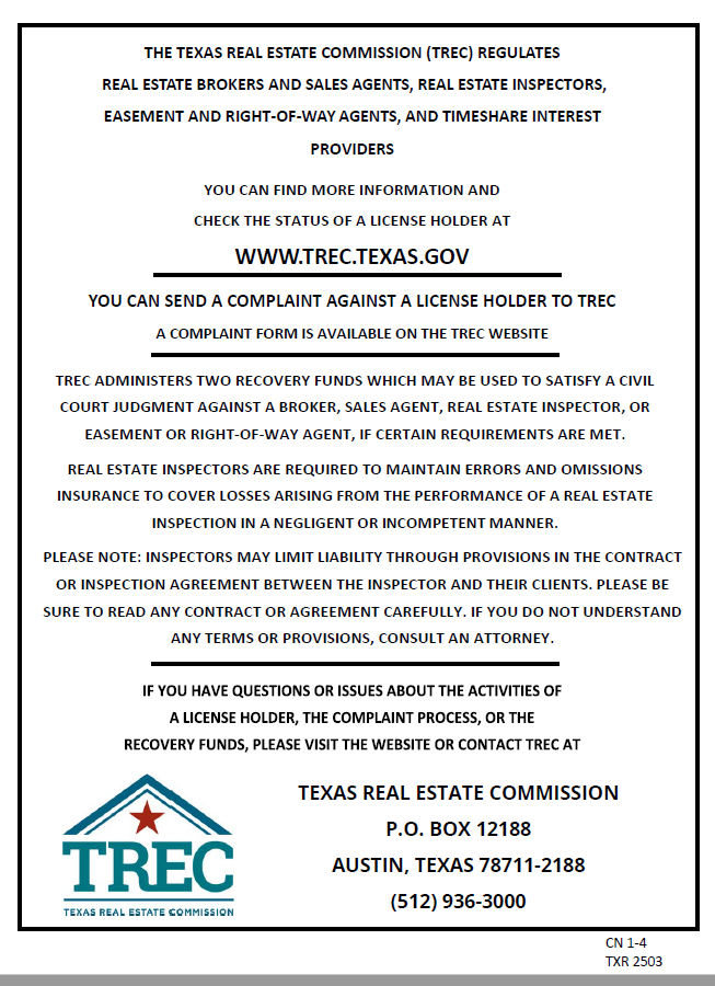 Consumer Protection Notice provided by Unforgettable Lake Conroe Real Estate